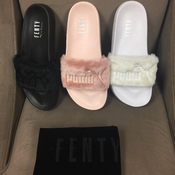 Rihanna - fenty slippers | Rihanna