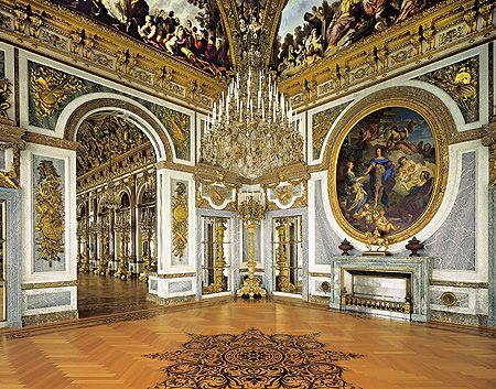 Schloss Herrenchiemsee Der Friedenssaal Herrenchiemsee Franzosische Schlosser Beruhmte Schlosser
