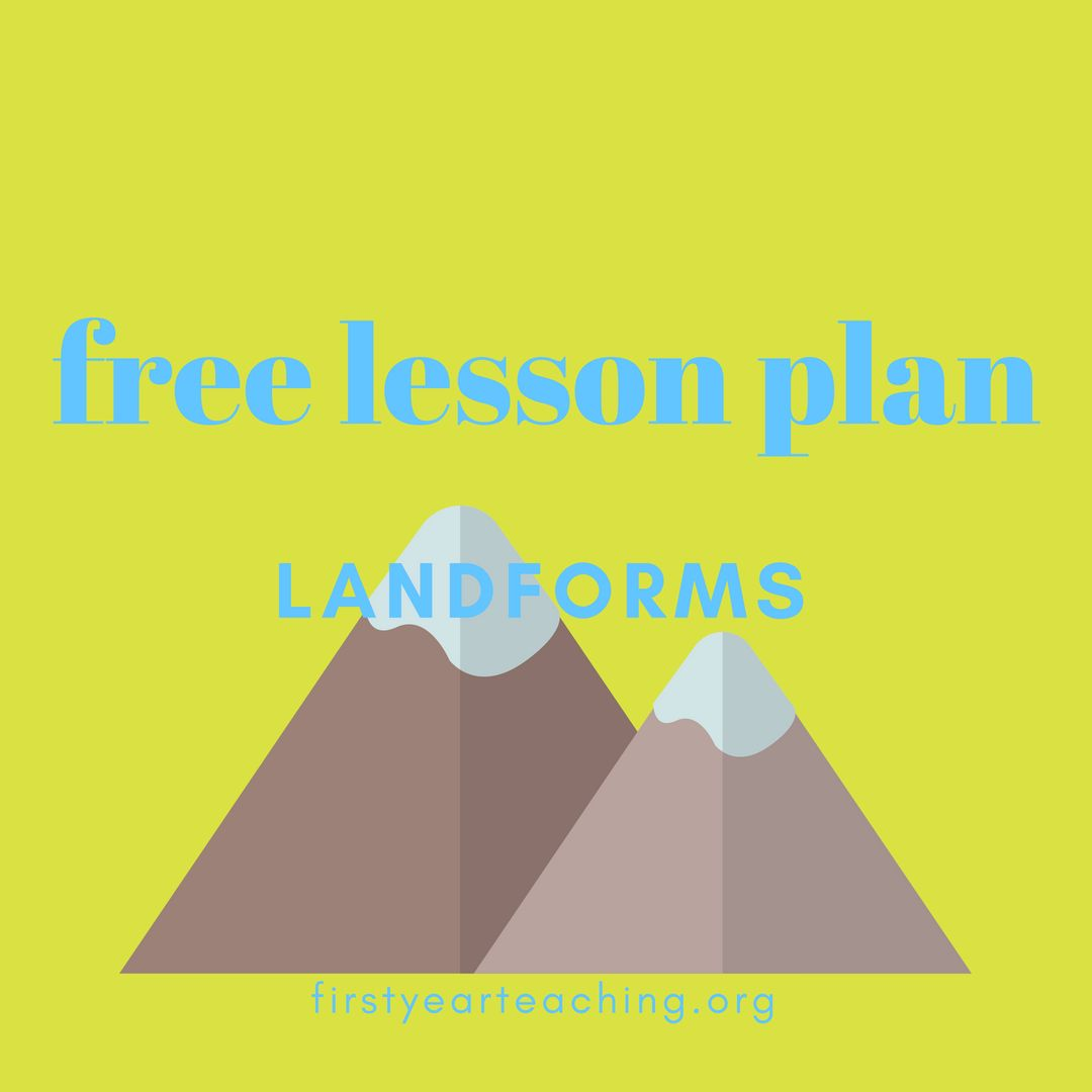 Landforms Geography Lesson Plan With Images