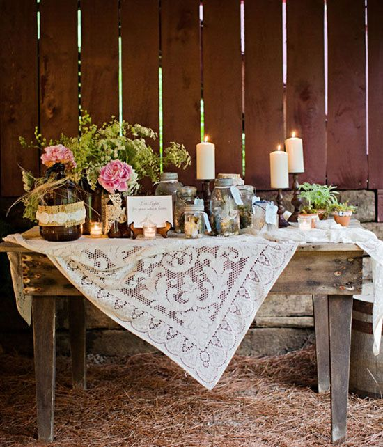 Rustic Wedding Table Decoration Ideas: Throw Your Ultimate Distinctive Country Rustic Wedding To