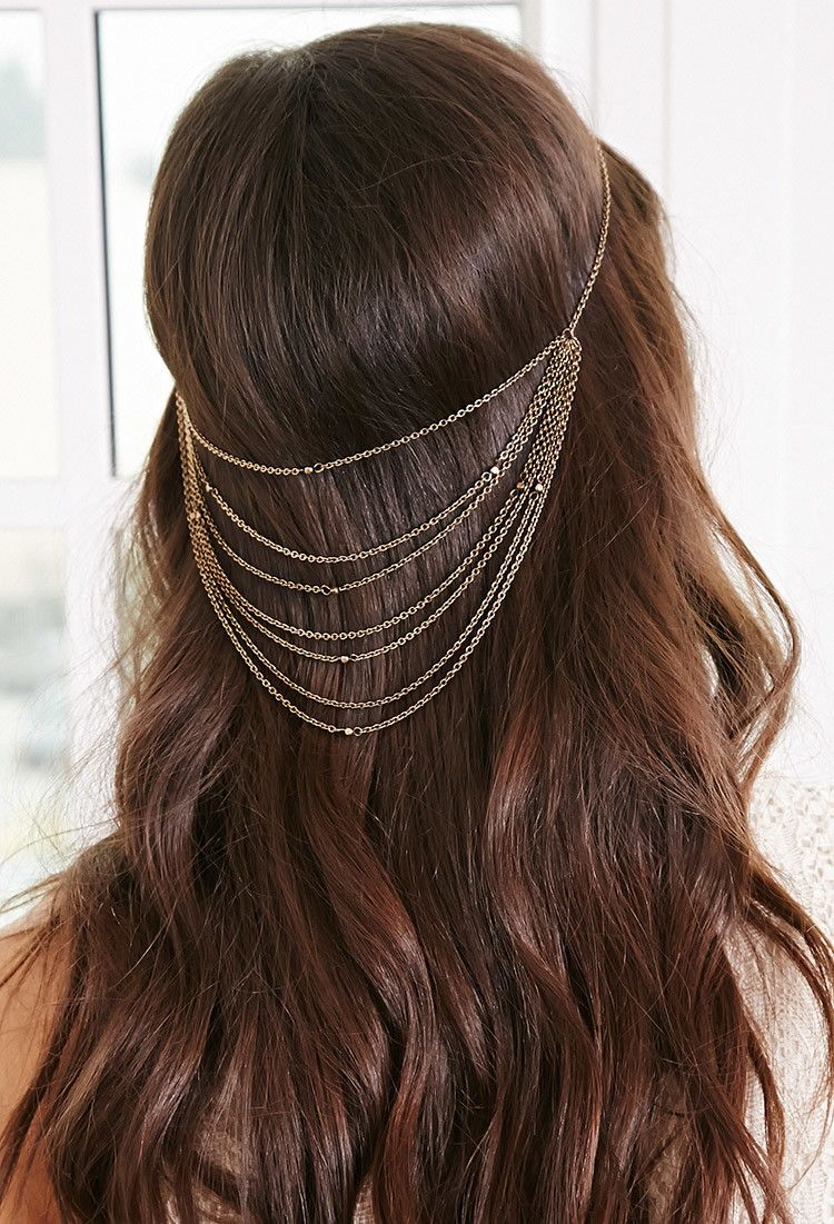 $3.99 | F21| Layered Chain Head Piece | Product Code : 1000054166