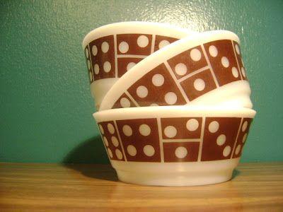 Domino Anchor Hocking Bowls
