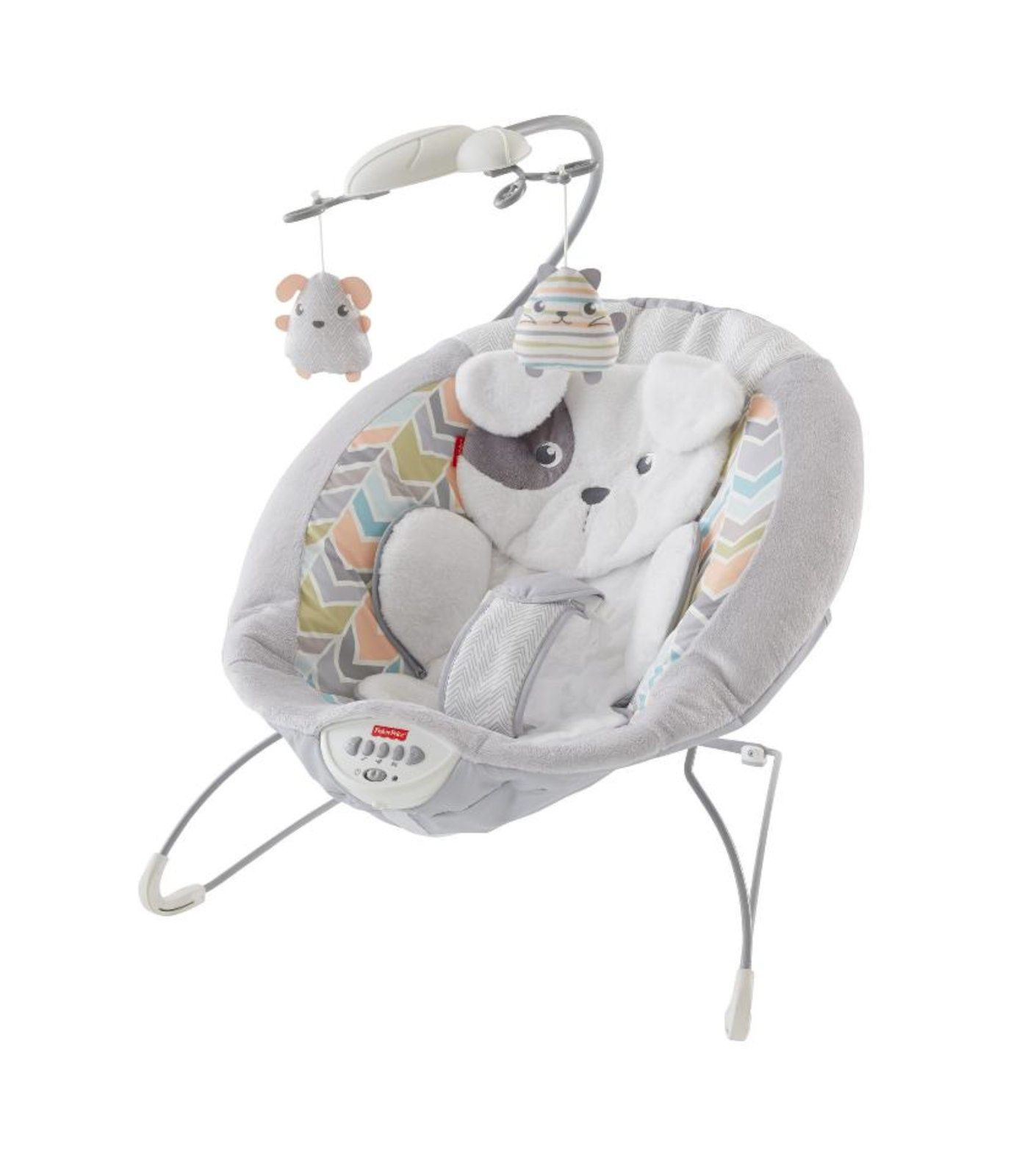 Fisher Price Sweet Snugapuppy Dreams Deluxe Baby Bouncer