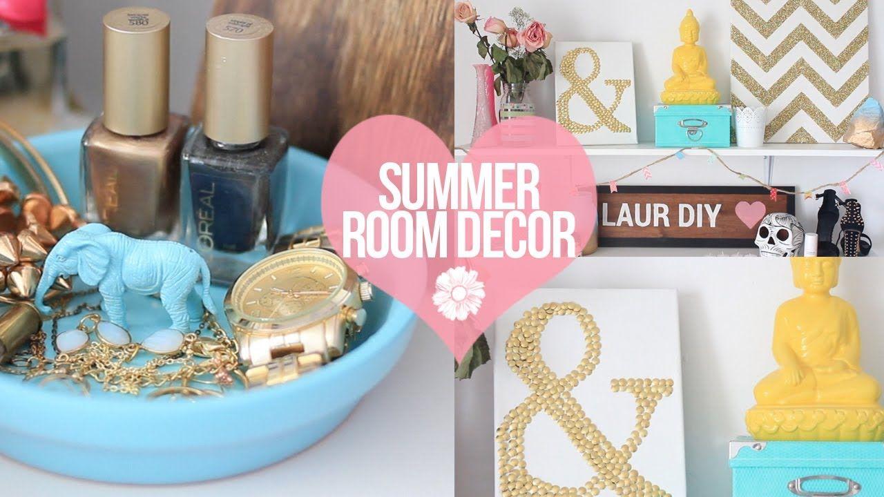 Best Diy Easy Summer Room Decor Laurdiy Playlist Summer 640 x 480