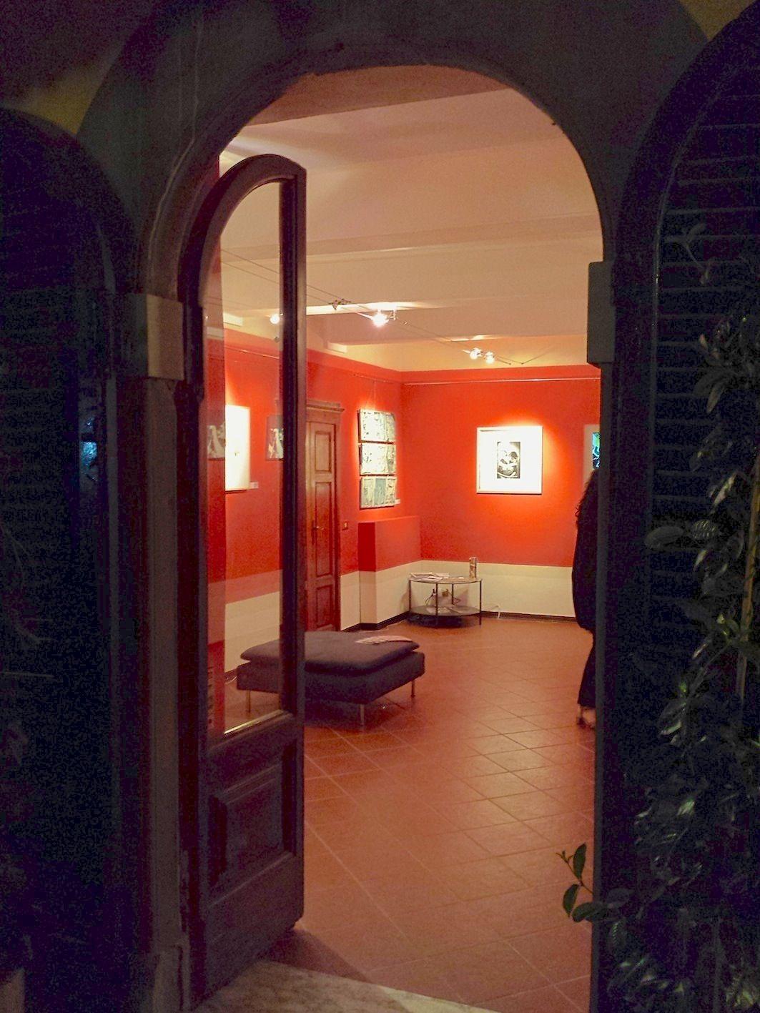 """Inaugurazione """"Art@ENOJAZZ""""  andrea mattiello #villalibano #barga #art #contemporaryart #arte #contemporanea #music #jazz #artista #emergente"""
