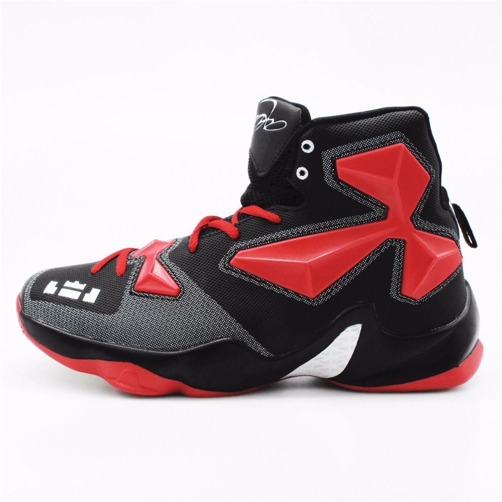 2016 Men's High Quality Sneakers Red Black and White