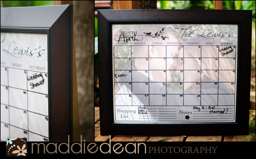 Picture Frame Dry Erase Calendarwould Work For Chore Charts Too