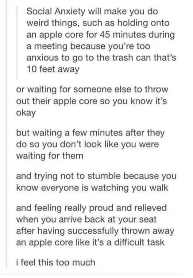 If You Have Anxiety, These Tumblr Posts Will Make Perfect Sense To You