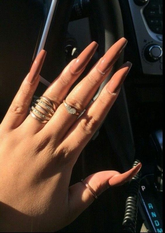 ✨. @truubeautys | C L V W S | Pinterest | Nude nails, Nude and ...