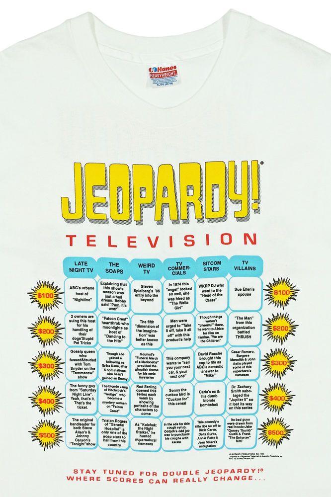 31+ Jeopardy 2002 ideas