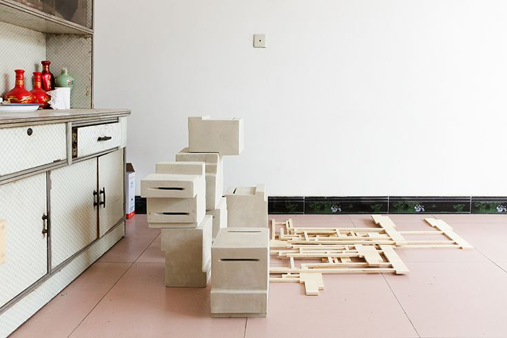 Behind The Walls Installation Art in Private Homes Beijing China ...
