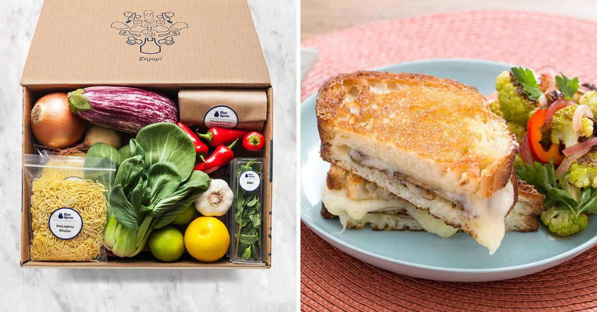 Blue Apron Makes It Easy To Create Incredible Meals Each Week With Farm Fresh Produce Step By Step Recipes Get 20 Off Yo Food Cooking Healthy Food Delivery