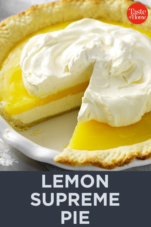 Supreme Pie - Essen -Lemon Supreme Pie - Essen -  Rainbow Mug Cake Recipe  Ultimate Chocolate Chees