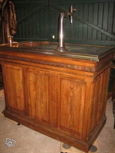 joli petit bar comptoir ancien de bistrot comptoirs bar pinterest. Black Bedroom Furniture Sets. Home Design Ideas