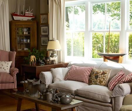 10 idées déco  maison de campagne Salons, Living rooms and