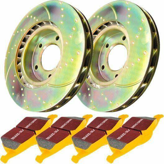 (Sponsored EBay) EBC 2-Wheel Set Brake Disc And Pad Kits