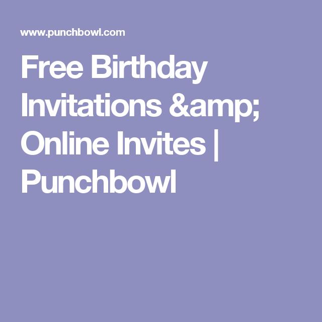 online invites for free