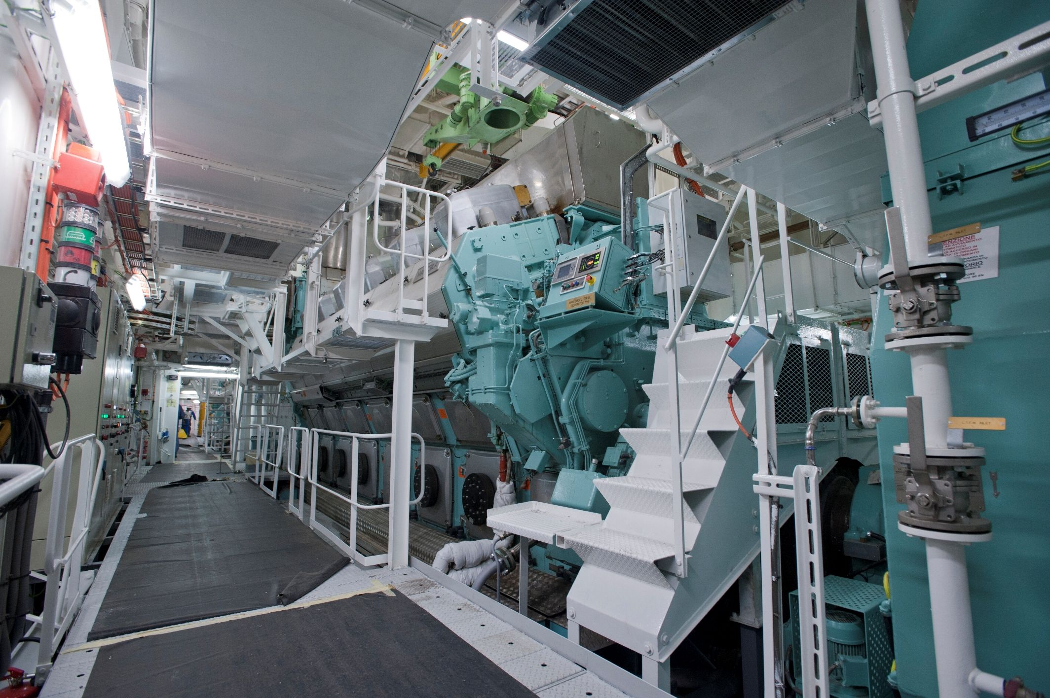 We Have Commissioned PLCcontrol Systems And Performed MRO - Largest cruise ship engines
