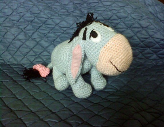 PDF - Eeyore the Winnie the Pooh\'s donkey friend - 12 inches ...