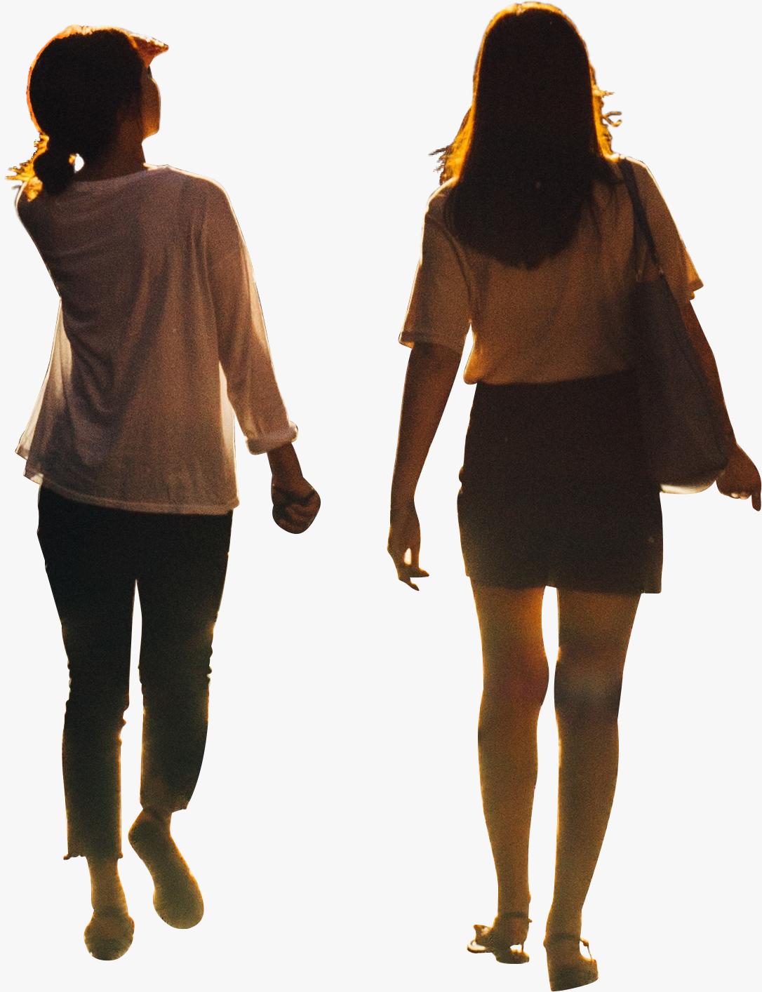 Girls Walking Png Ny Trip Girl Two Girls