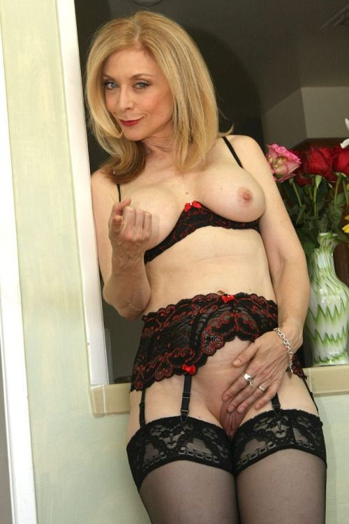 Old Pussy  Coco  Pinterest  Nina Hartley, Stockings And -3797