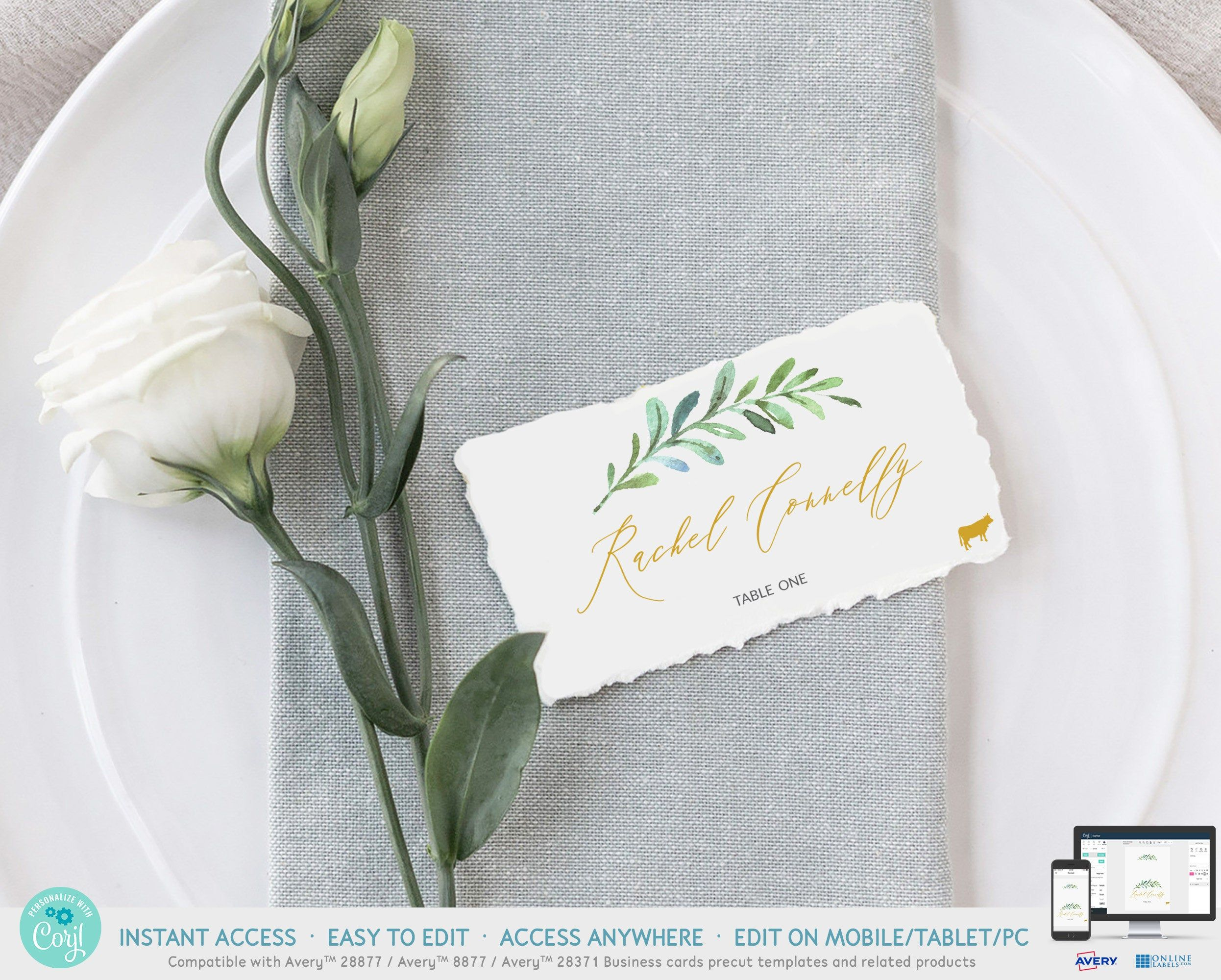Pin On Wedding Place Card