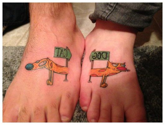 best friend tattoos for a guy and girl best friend infinity