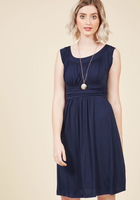 0a04fa225dfbf I Love Your Jersey Dress in Navy   bridesmaids   Pinterest