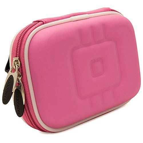 WG 4 GPS Digital Adventure Compact Camera and Screen Protector and Screen Protector and Mini Tripod WG 4 Vangoddy Nylon SLR Bag Magenta Pink for Ricoh WG 20