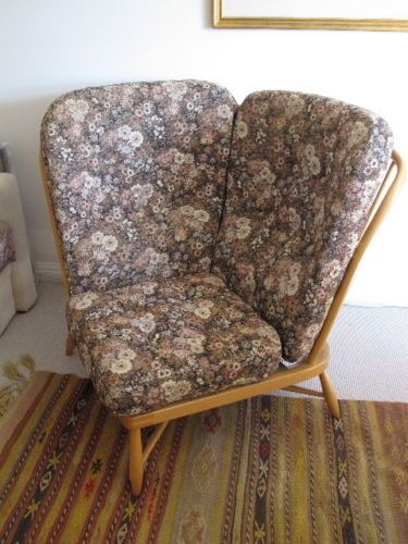Marvelous ERCOL Large Corner Chair