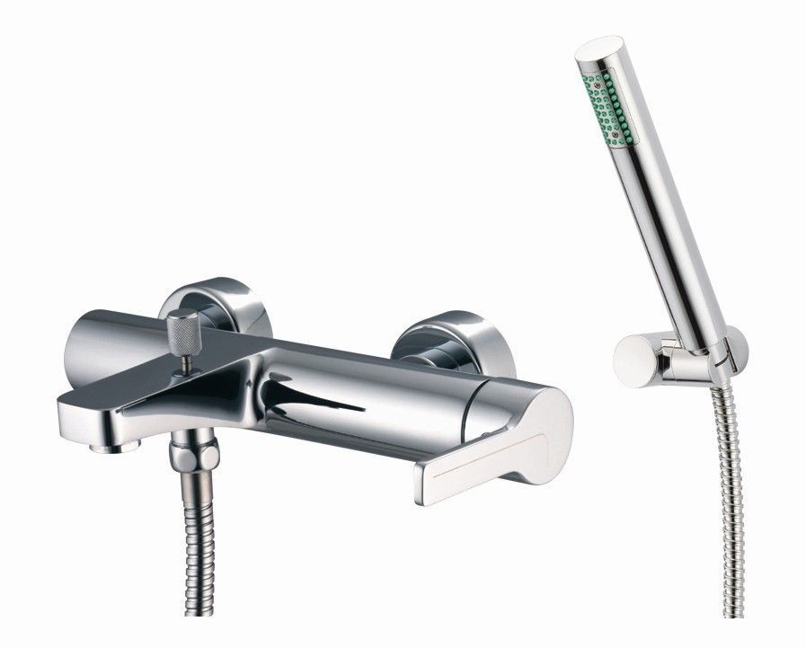 Matrix Wall Mount Diverter Bath Tub Faucet with Hand Shower