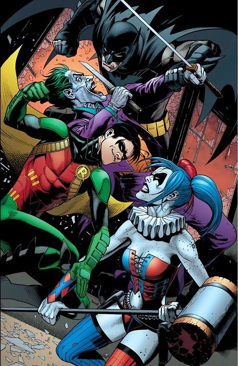 The Joker and his Harley Quinn