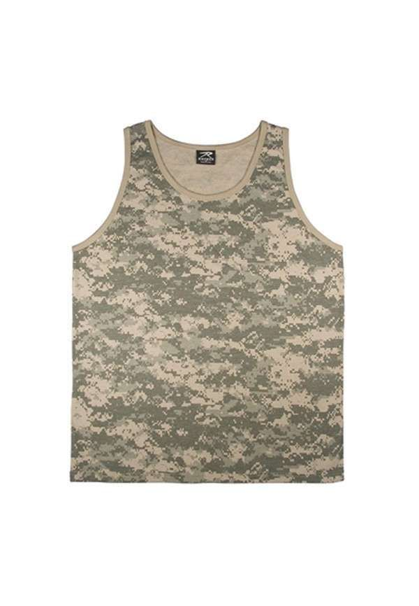 Army Digital Camouflage Tank Top