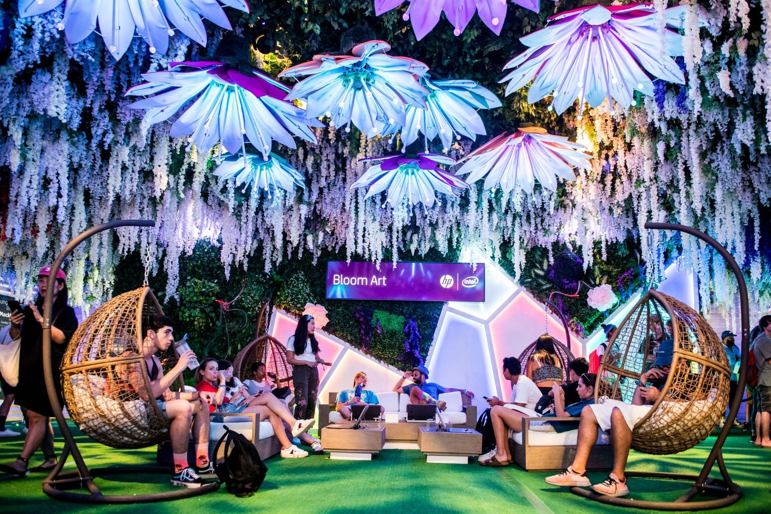 Panorama Music Festival Activations Engage Fans With Digital Art, Dive Bars and Dunk Contests
