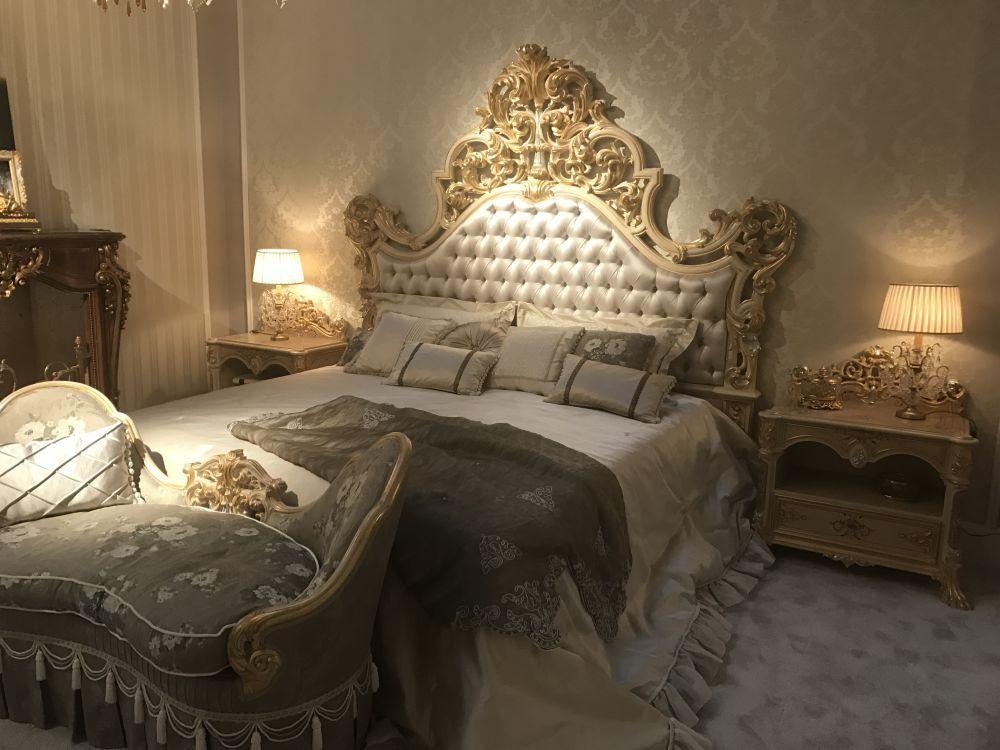 Barock, RokokoStil für ein luxuriöses Schlafzimmer