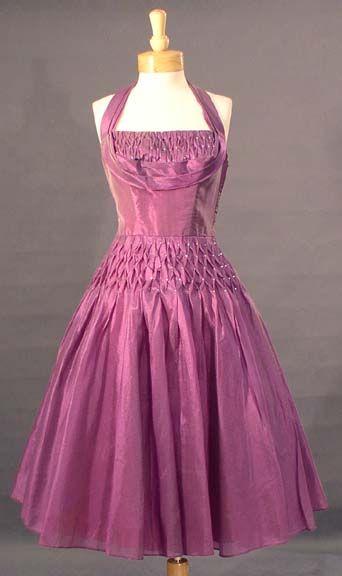 Smocked Cocktail Dress
