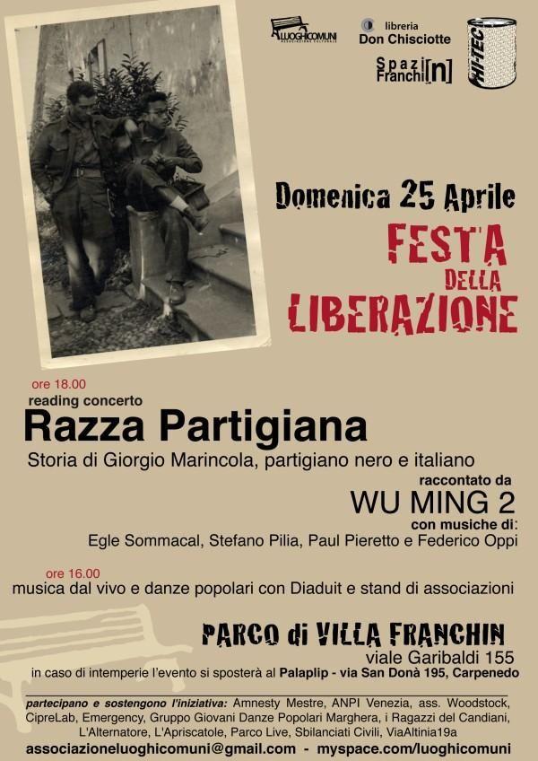 FESTA DELLA LIBERAZIONE - 25 aprile 2010RAZZA PARTIGIANA!
