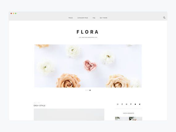 Pin de Design by Bloom | WordPress Themes & Education for the ...