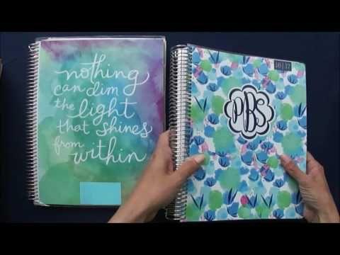 Erin Condren  vs. Plum Paper Teacher Planner REVIEW - YouTube