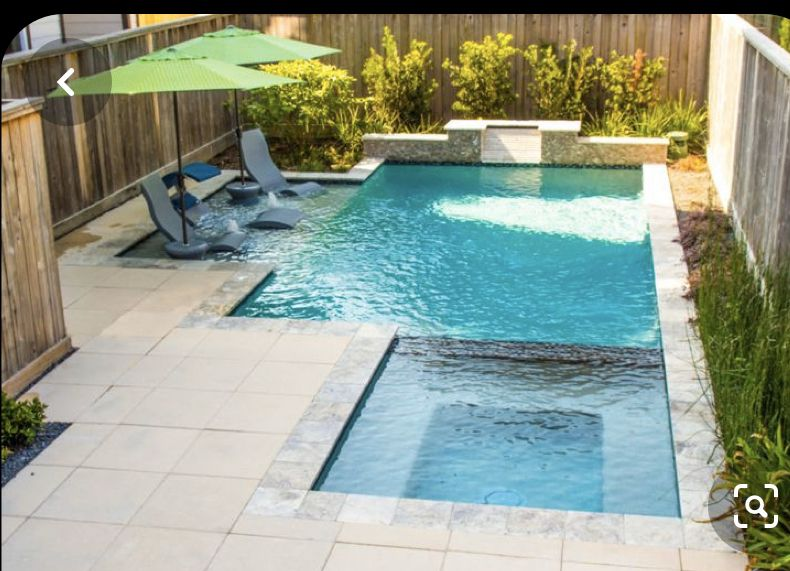 Pin By Avery Cortez On For The Home In 2020 Backyard Pool Landscaping Small Backyard Pools Swimming Pool Prices