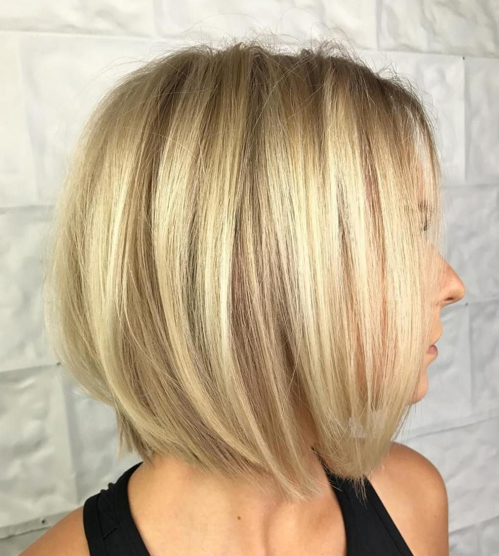 70 Winning Looks With Bob Haircuts For Fine Hair Blonde Bobs Bobs