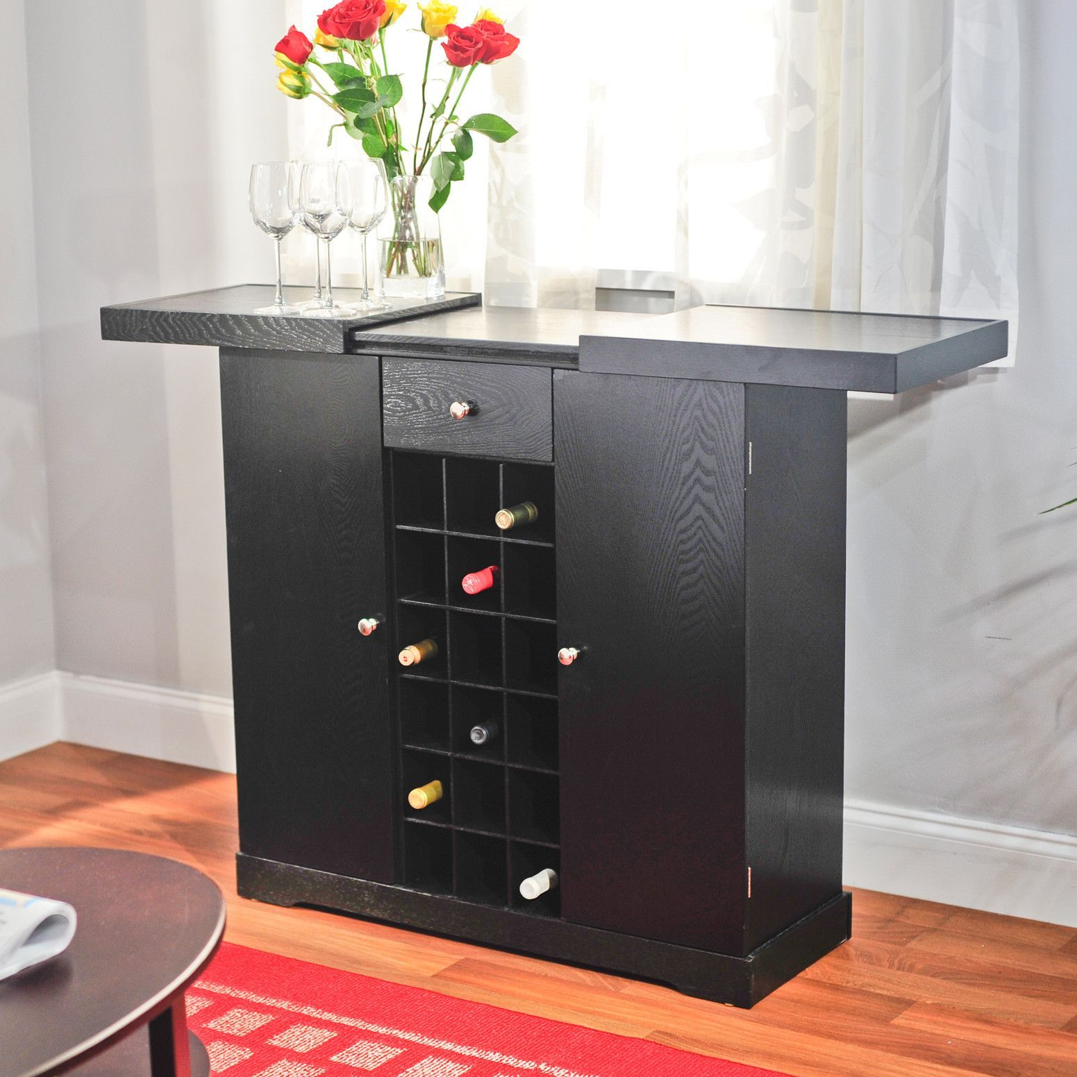 Bar with Wine Storage   Products   Pinterest