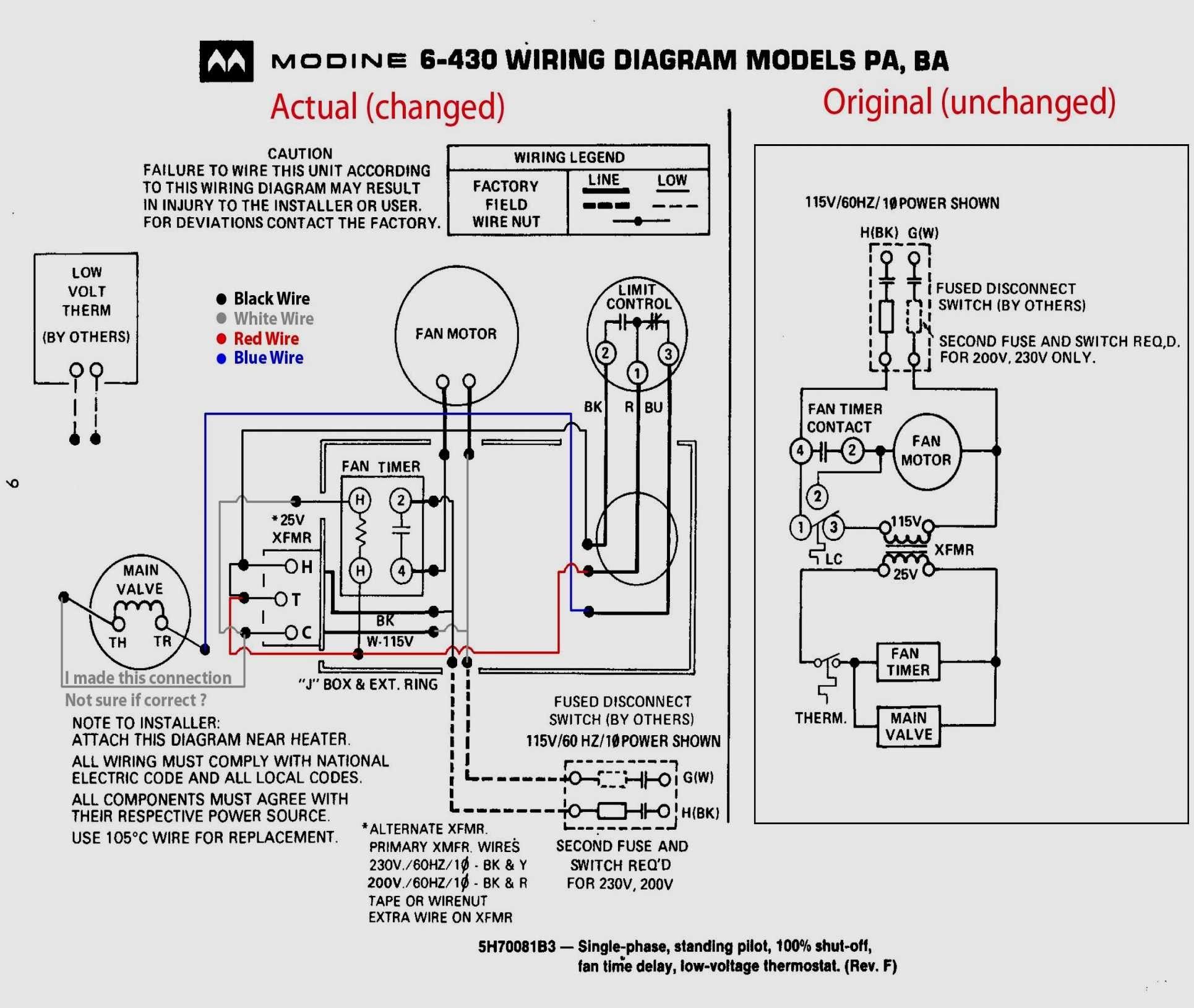 intertherm thermostat wiring diagram