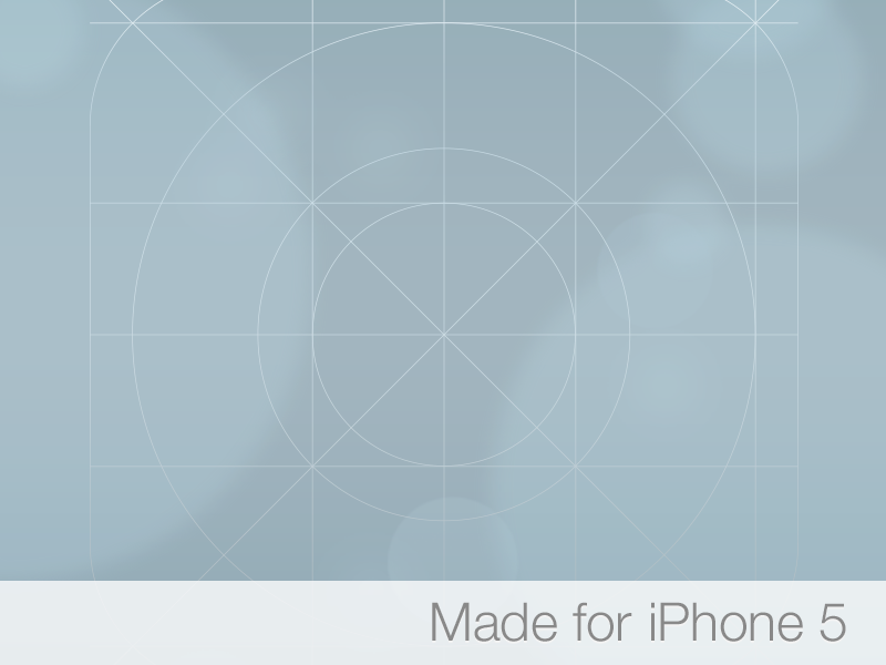 Ios 7 Icon Grid Wallpaper For Iphone 5 Shoe Gasm Ios 7