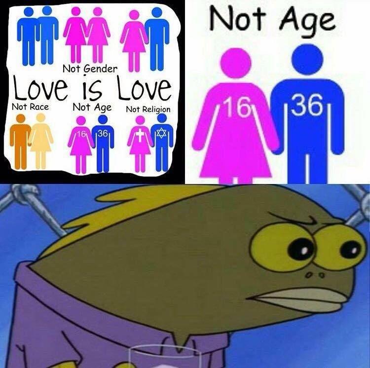 Dating food meme spongebob