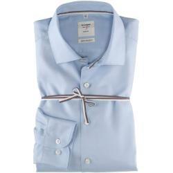 Photo of Olymp Level Five Smart Business Hemd, body fit, Kent, Bleu, 46 Olymp