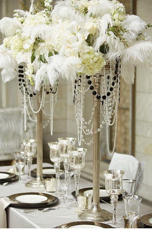 Gatsby inspired wedding theme hot chocolates blog httpwww centrepieces junglespirit Images