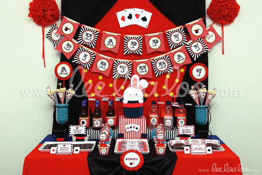 Title: Magic Show Birthday Party Theme - B100 II To find the ...