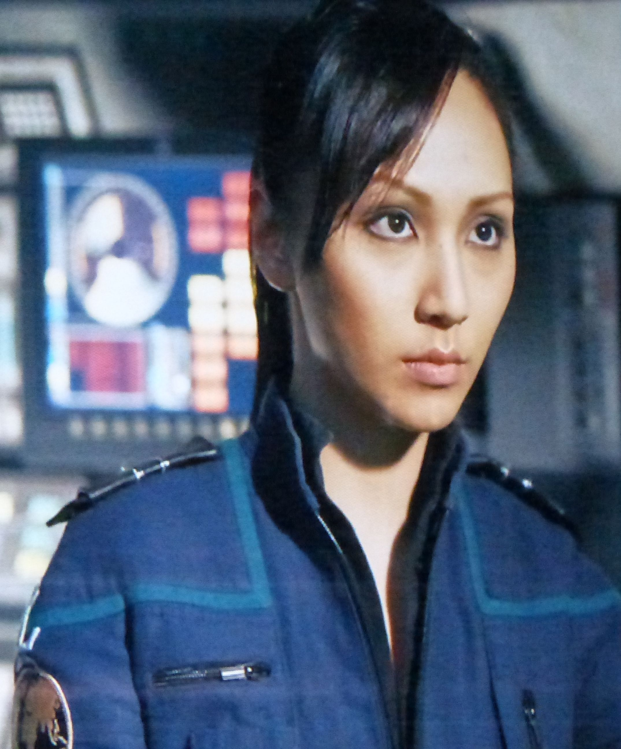Linda Park is a South Korean-born American actress. She is known for her portrayal of communications officer character Hoshi Sato in the television series Star Trek: Enterprise, and for her role as Maggie Cheon on the drama series Crash.