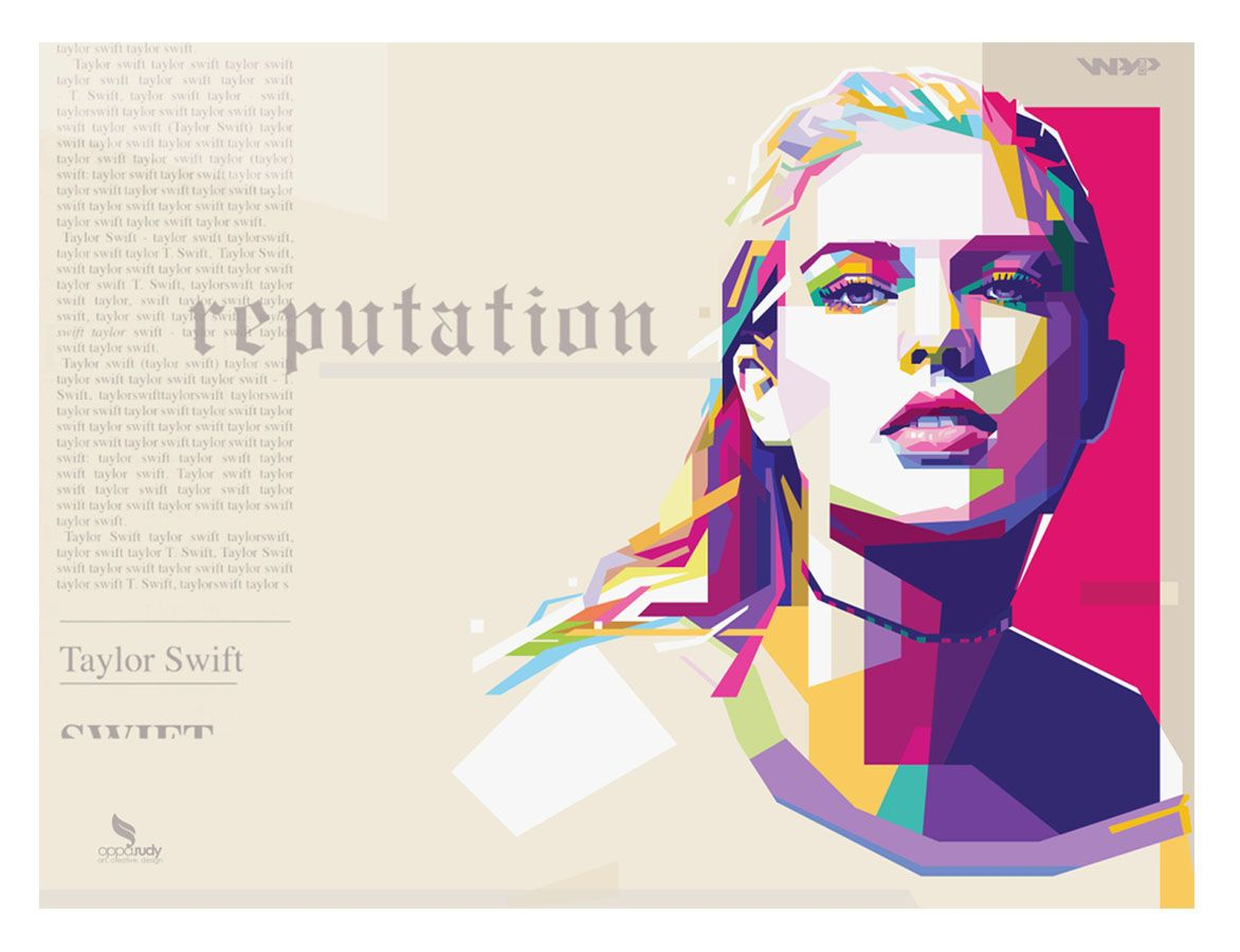 Download Taylor Swift Reputation - WPAP by @opparudy on Behance # ...